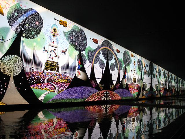 昇仙峡 影絵の森美術館 写真4
