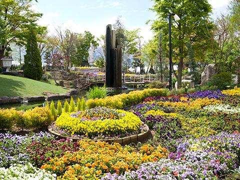 ハーブ庭園 旅日記 勝沼庭園 写真1