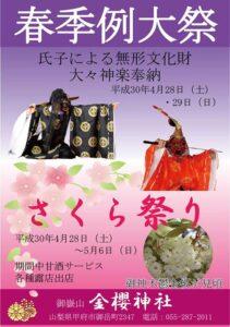 金桜神社祭り