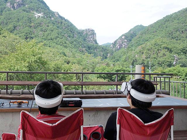 昇仙峡ドローン・バードビュー遊覧 写真2