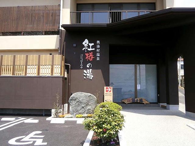 奥湯村温泉 紅椿の湯 写真1